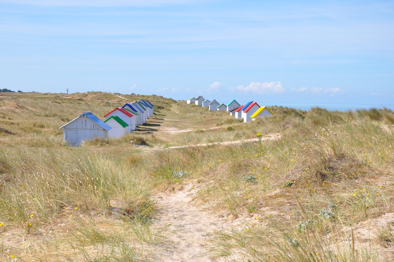 Gouville_Beach_huts