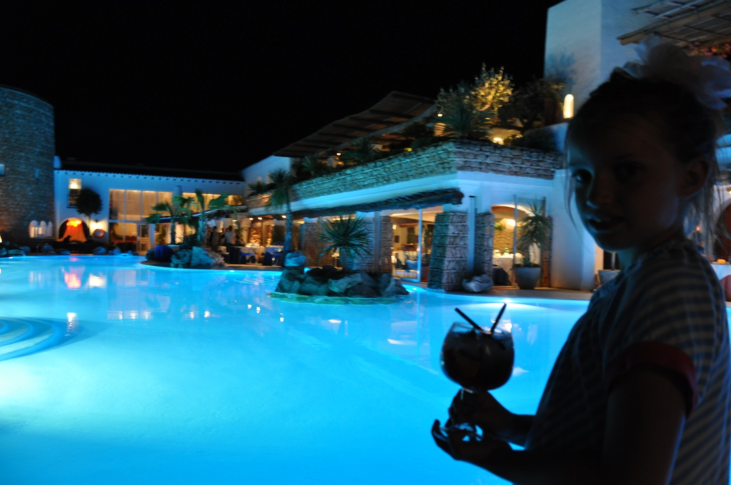 Hacienda_Ibiza+pool_at_night