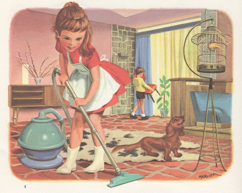 Martine housework