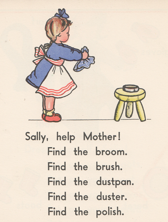 Sally help mother MC
