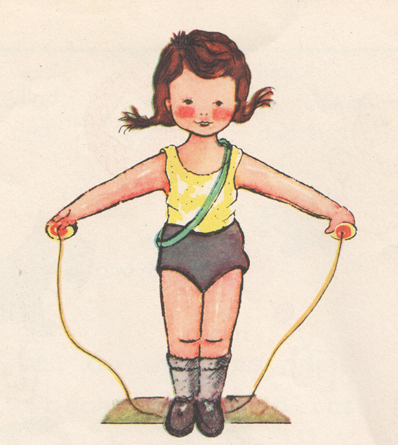 skipping rope sally MC