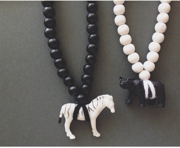 Pray4Trax_cystic_necklace_black_white