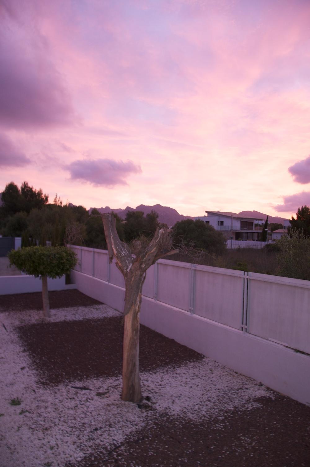 Mallorca_sunset_villa_Pollensa