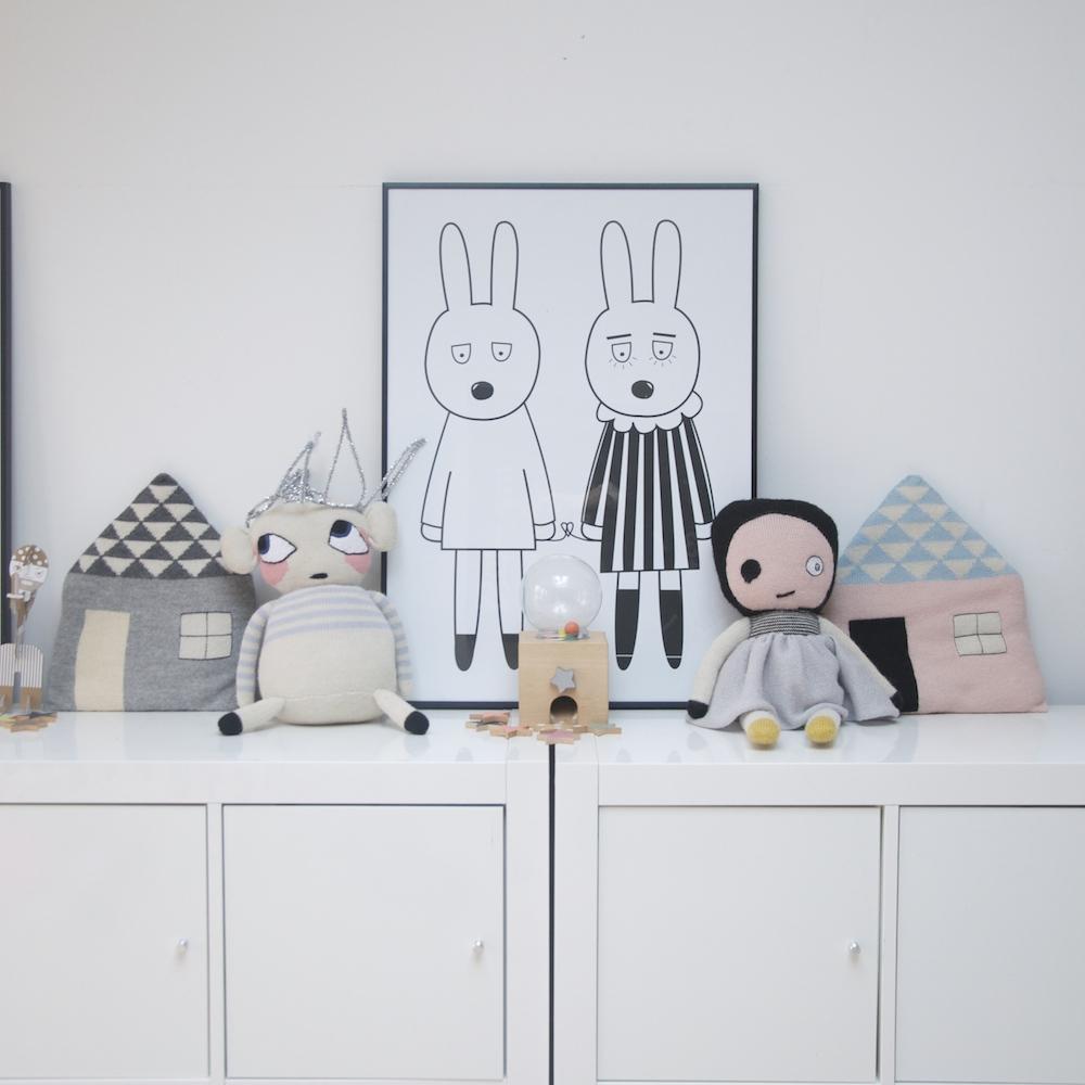 Miniwilla_rabbits_print_porster_lucky_boy_sunday