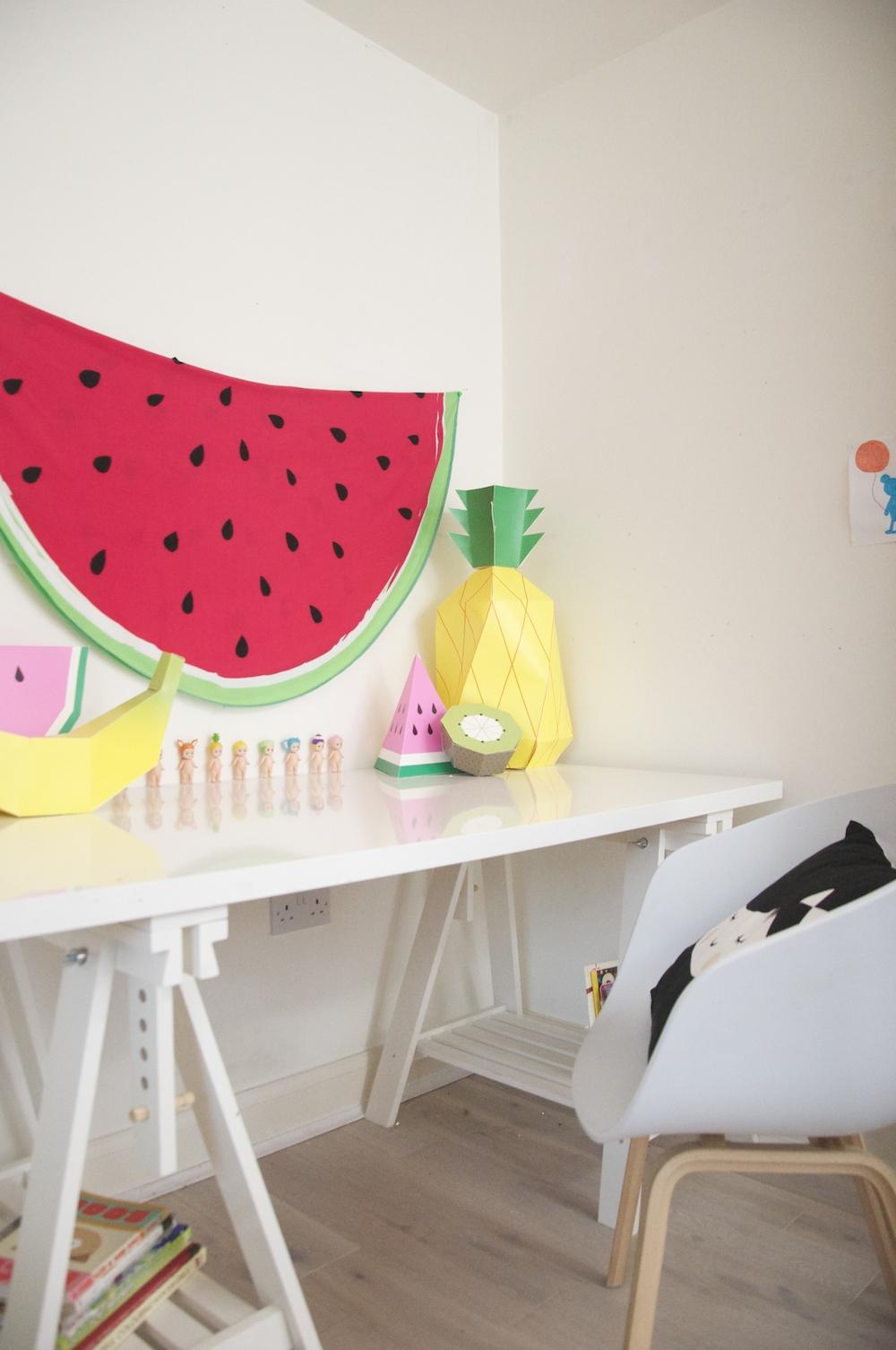 kids_room_desk_childrens_fruit_watermelon