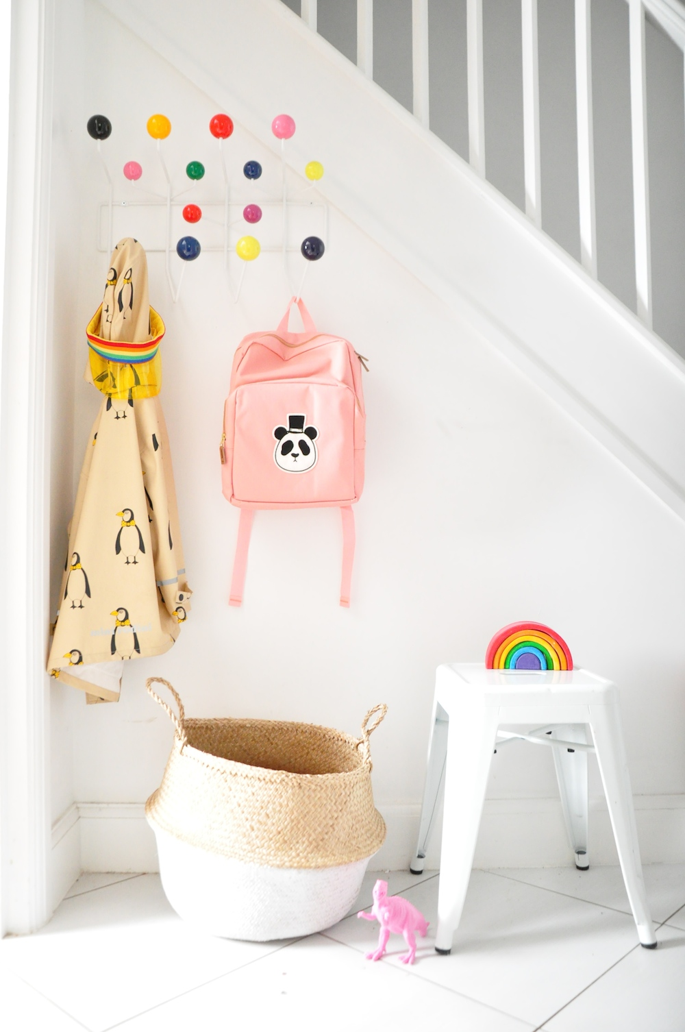 hallway_staircase_mini_rodini_hang_it_all_oliella_basket_scandiminis