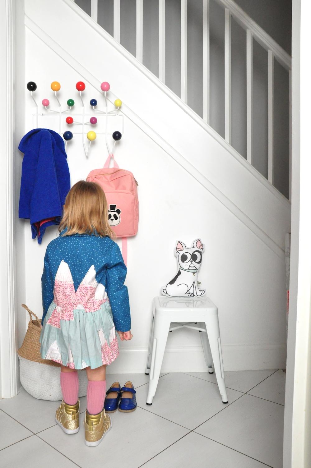 Hallway_eames_milk_and_biscuits+mermapillar