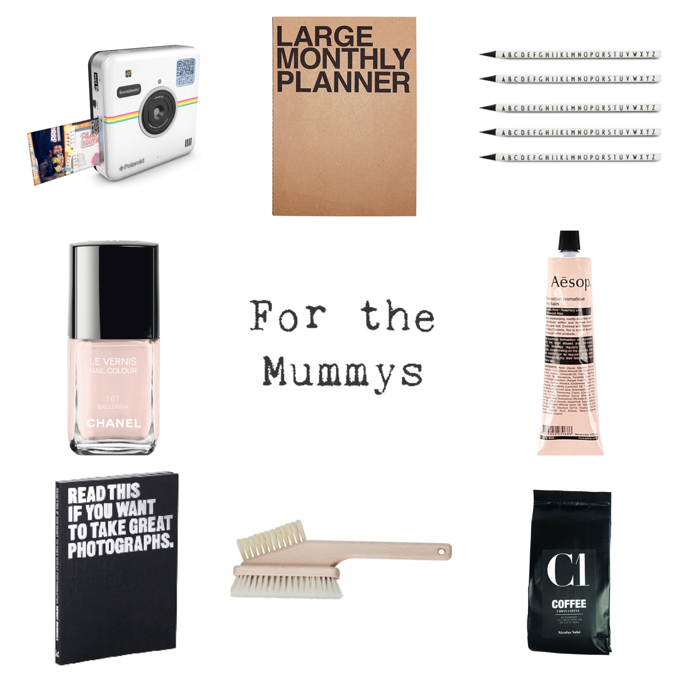 For The Mummys gift guide christmas