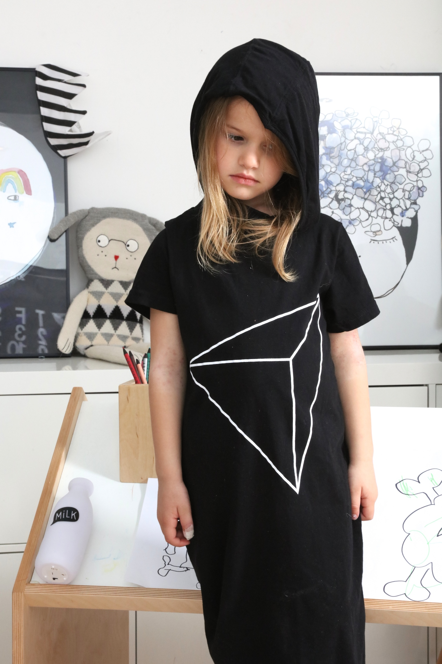 Nununu_maxi_dress_kids_black