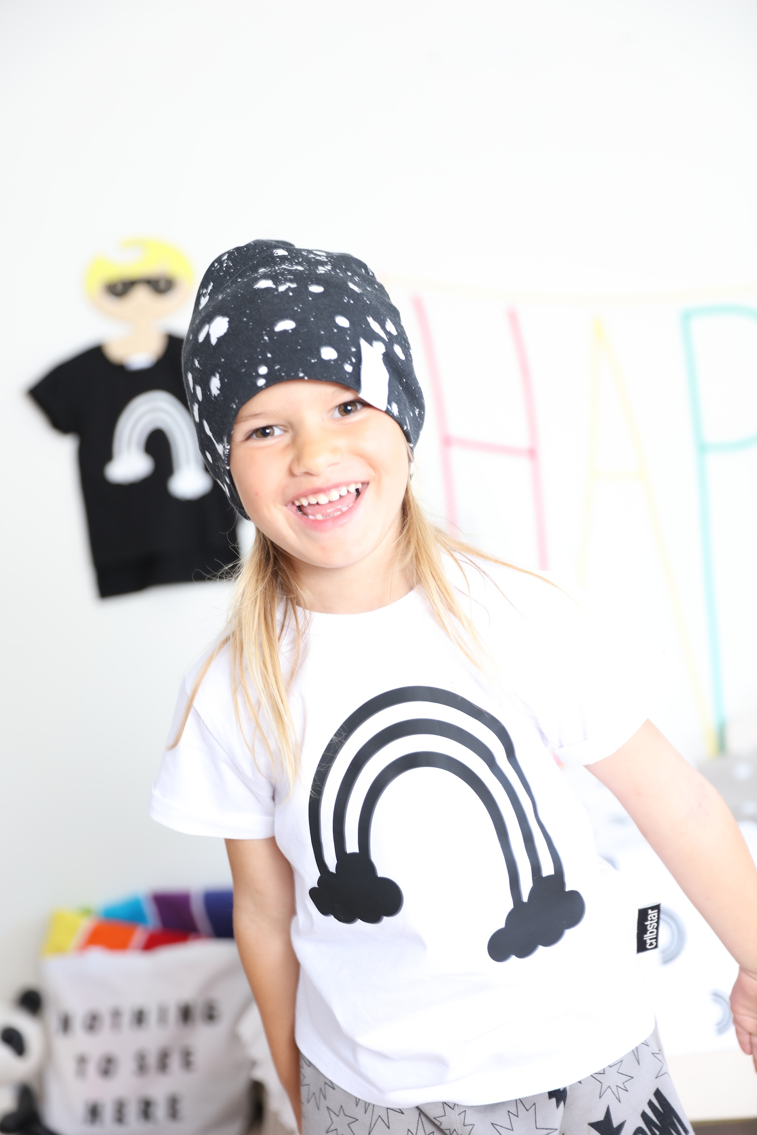 Jaxon_james_rainbow_tshirt_Little_man_happy_hat