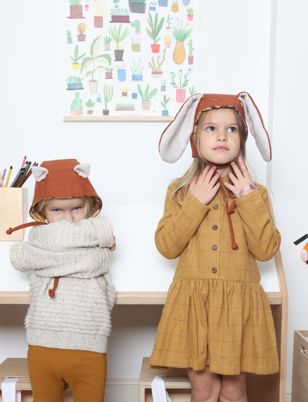 bunny_fox_ears_ginger_kia_ora_kit_hats