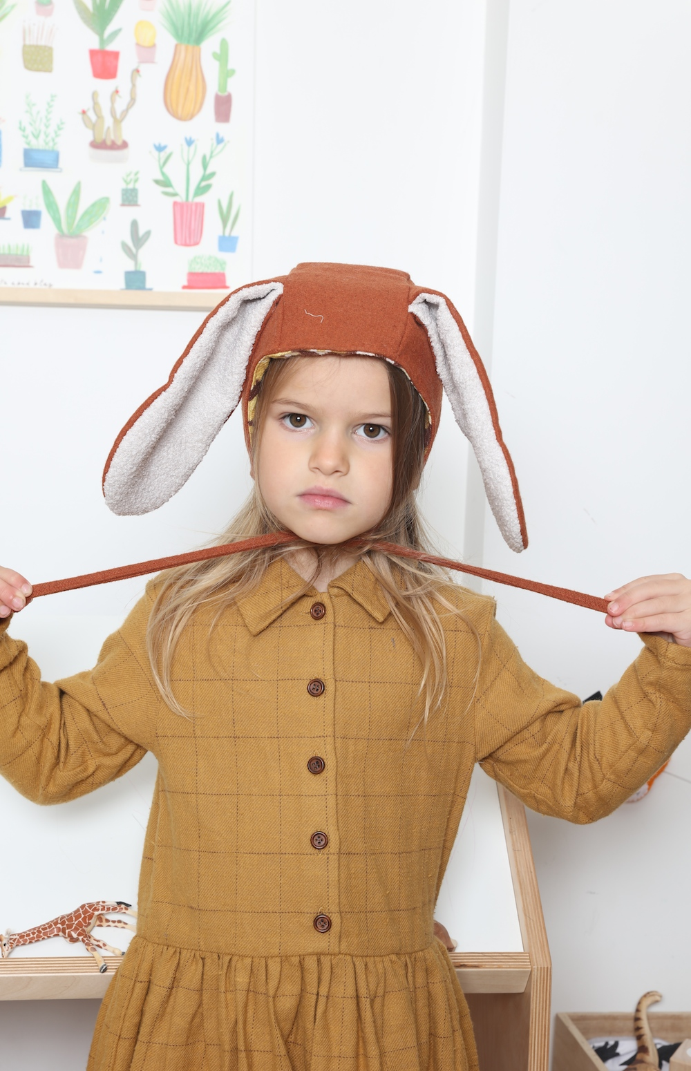kia_ora_kit_childrens_bunny-rabbit_hat_bonnet_ginger
