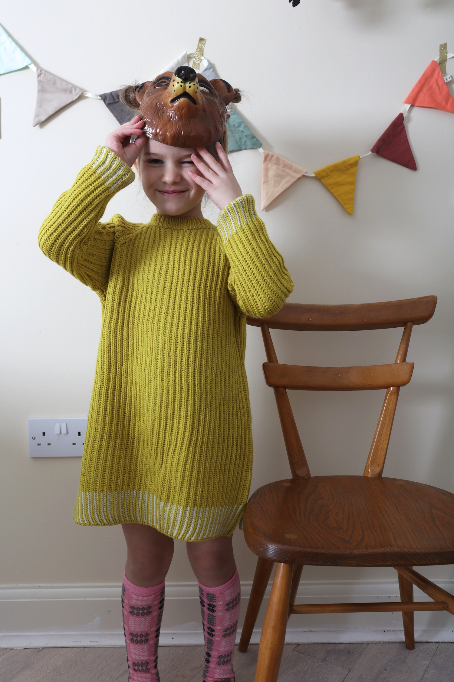 Mabli_knits_tunic_bear_mask_little_lulubel_socks