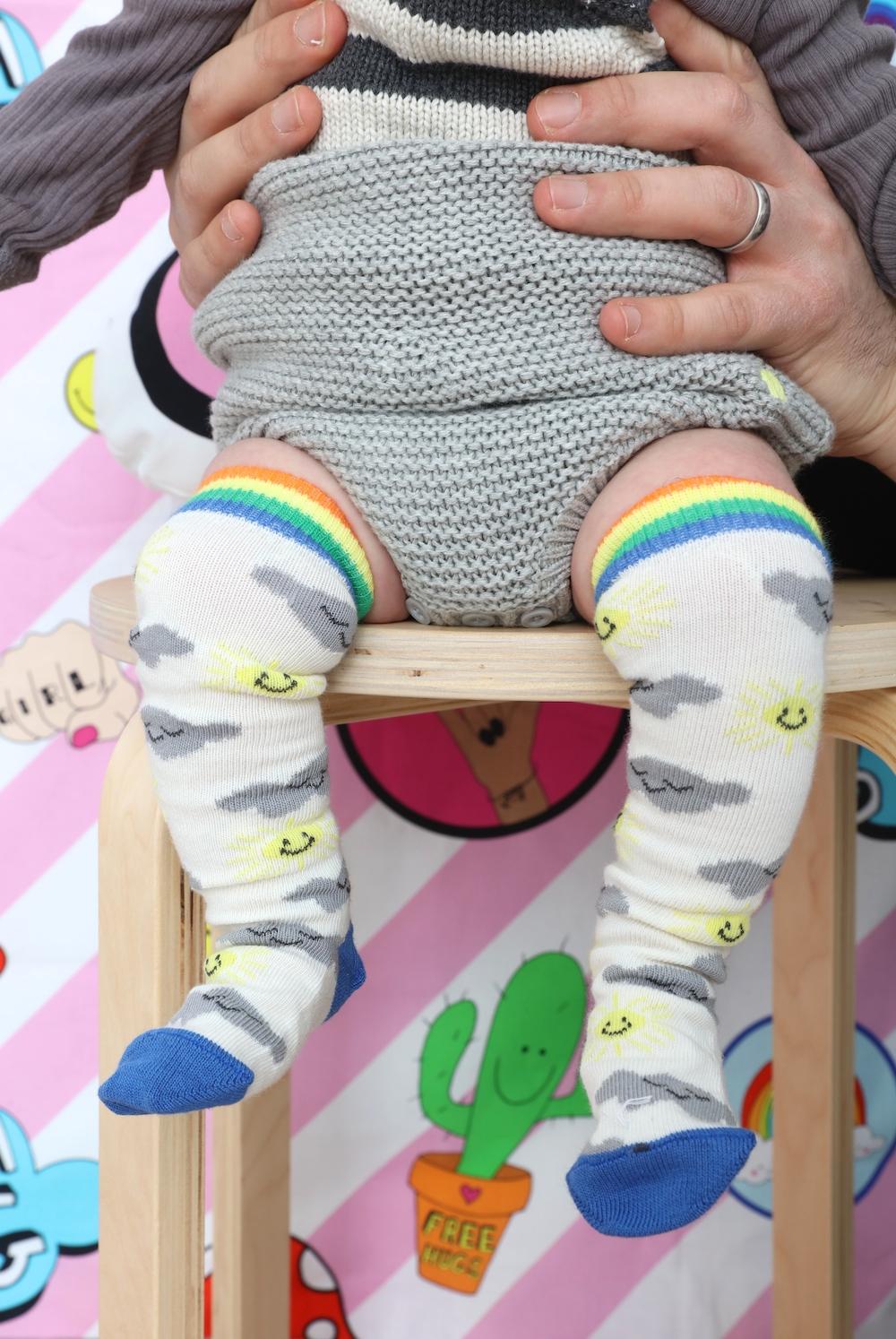 The_Bonnie_mob_baby_socks_rainbow
