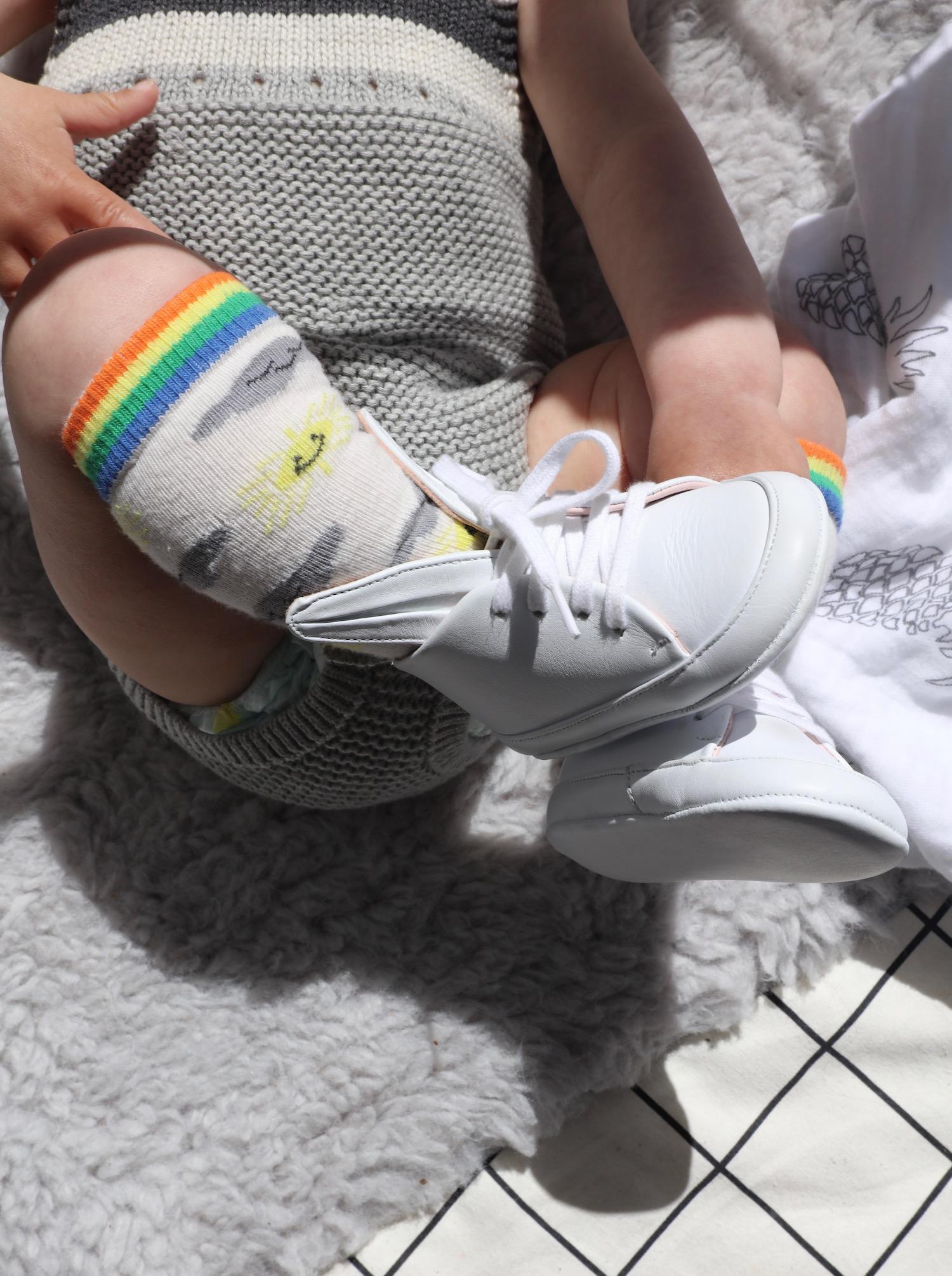 Bonnie_mob_socks_Mina_parikka_bunny_baby_trainers