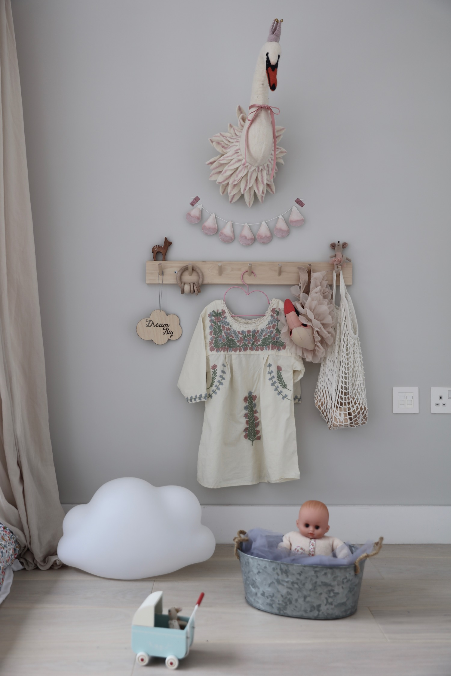 Numero 74 Canopy Bpowder Molly Meg Mollly Kids Interior Bedroom