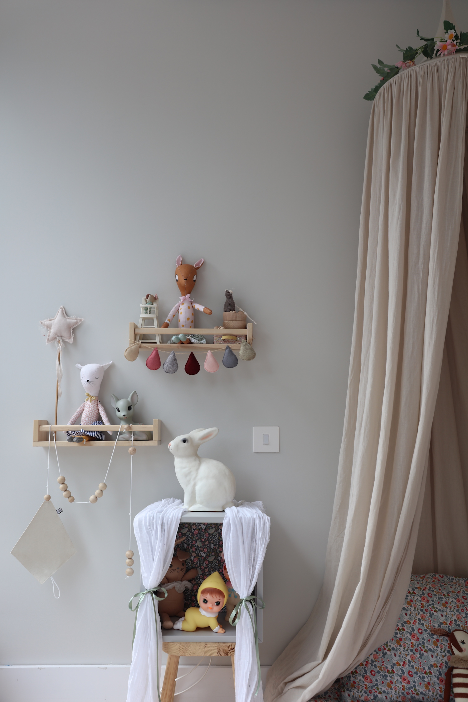 Sarah Bendrix Avas Dreams Molly Meg Canopy Kids Bedroom Velveteen Babies Garland Swan Apolina Kdis Dress